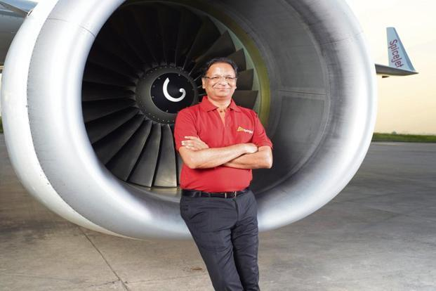 Ajay Singh, chairman and managing director, SpiceJet.