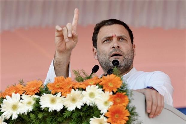 Congress president Rahul Gandhi. File photo: PTI