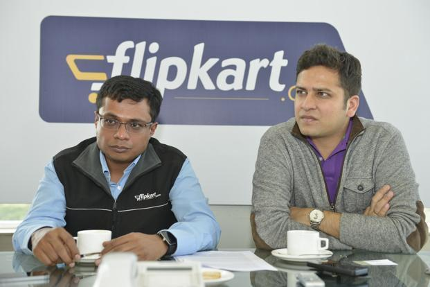 Flipkart was founded in 2007 in Bengaluru by Sachin Bansal left and Binny Bansal