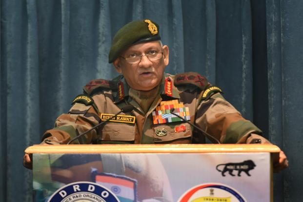 Azadi not possible, you can't fight Army: Gen Rawat to Kashmiris