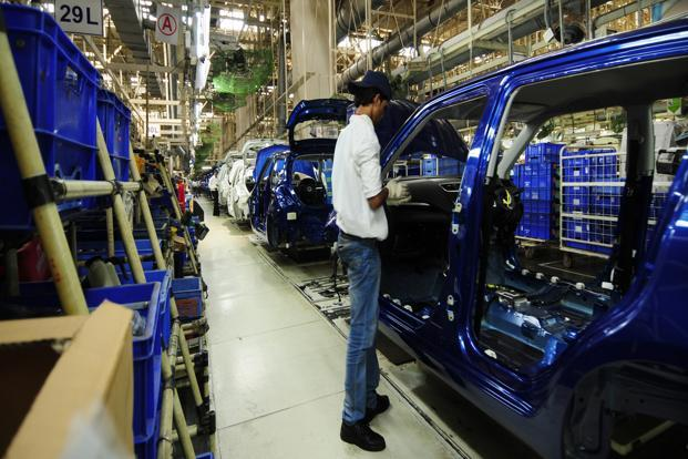 The sales of medium and heavy duty commercial vehicles increased by a whopping 169.2% y-o-y to 28,547 units since manufacturing in the April and May last year was impacted due to the shift to BS-4 emission norms. Photo: Mint