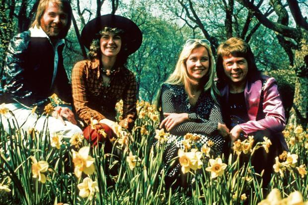 The iconic Swedish band, ABBA, reunites after 35 years. Photo: Alamy