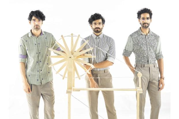 c7c053cb8e2f ... What to wear to work? Raymond makes a case for handlooms with its 2018  Khadi