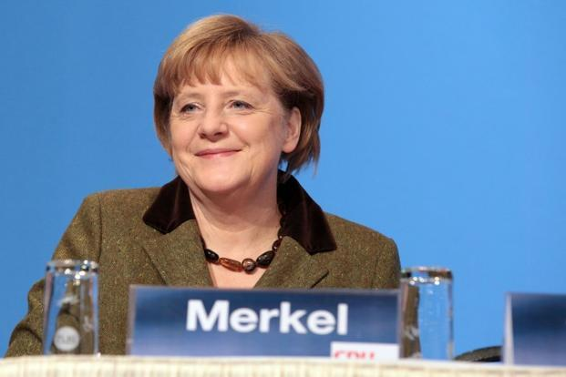 Angela Merkel also expressed her concern about the ongoing conflict in the easternmost parts of Europe. Photo: AFP