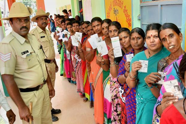 The Karnataka assembly elections have emphasized the need to remember that democracy is always of the people, by the people and for the people. Photo: PTI