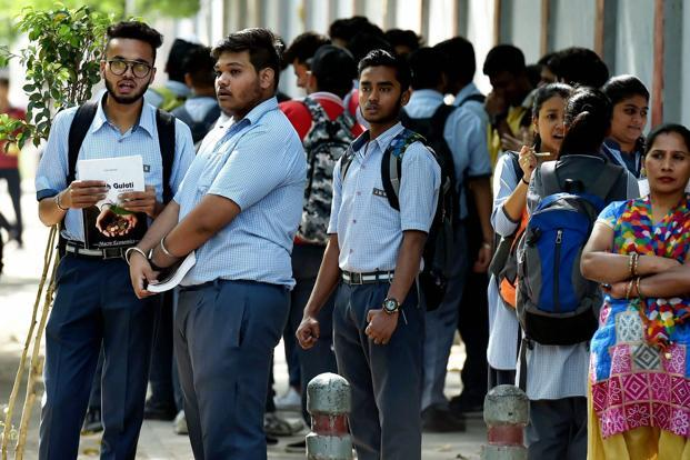 Students will be able to check their marks on the official website of MP Board after 10.30am. File photo: PTI