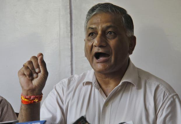 General VK Singh makes surprise visit to North Korea