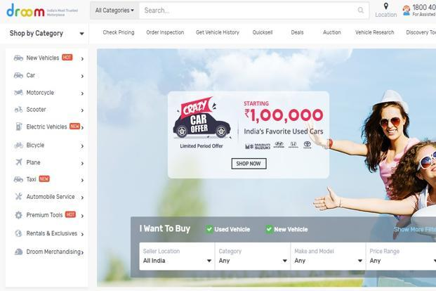 Droom raises $30 million in Series D round funding
