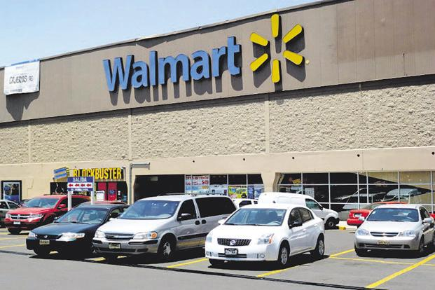 Comparable sales at US Walmart stores grew 2.1% in the first quarter. Photo: AFP