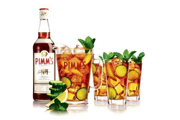 Napue gin and Pimm's.
