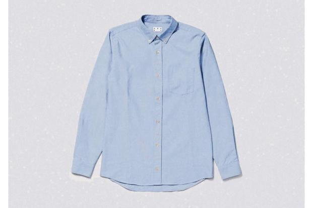 An Oxford shirt from ASKET.