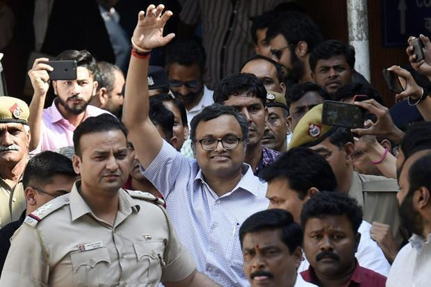 The Supreme Court also made it clear that its permission to Karti Chidambaram to travel abroad should not be used in any court of law for grant of statutory and regular bail in any other offence. Photo: PTI