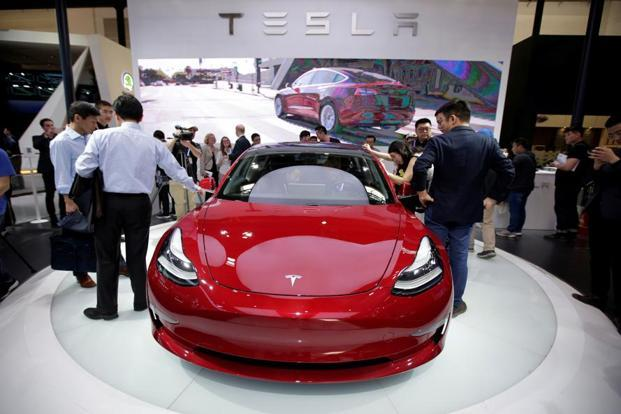For every additional thousand dollars that ends up being added to the price of Model 3, the size of the US auto market that buys cars that are that expensive shrinks by 1% to 2%. Photo: Reuters