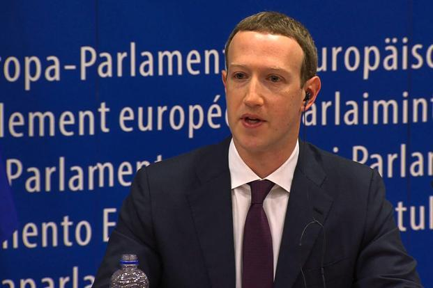 The European Parliament invited Zuckerberg in March after Facebook admitted that up to 87 million users may have had their data hijacked by British consultancy firm Cambridge Analytica. Photo: AFP