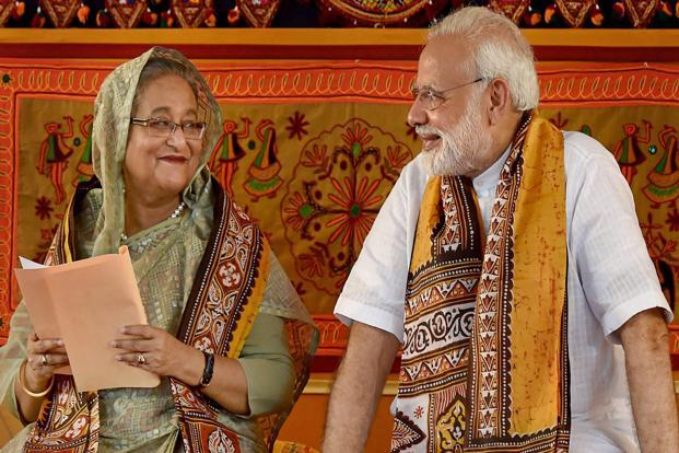 India, Bangladesh bonded by cooperation and understanding says Modi