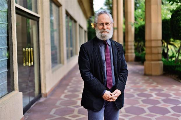 Sheldon Pollock, general editor of Murty Classical Library of India  and the Arvind Raghunathan Professor of South Asian Studies at Columbia University. With liberal arts education very much in vogue, he makes a case for Indian classical texts. Photo: Pradeep Gaur/Mint