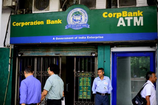The gross NPAs of the Corporation Bank soared to 16.21% in March quarter, from 11.70% in the same period of 2016-17. Photo: Mint