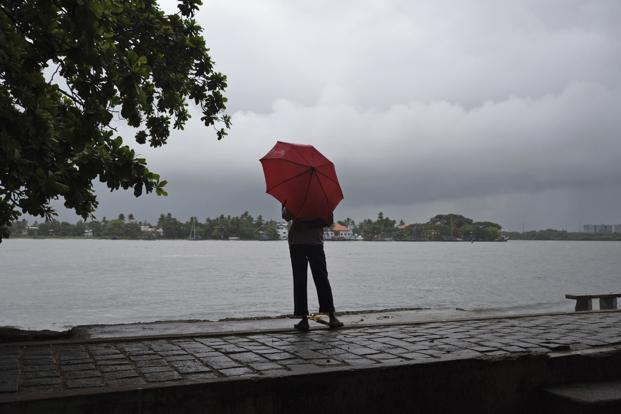 The south-west monsoon normally hits the Kerala coast on 1 June. Photo: PTI
