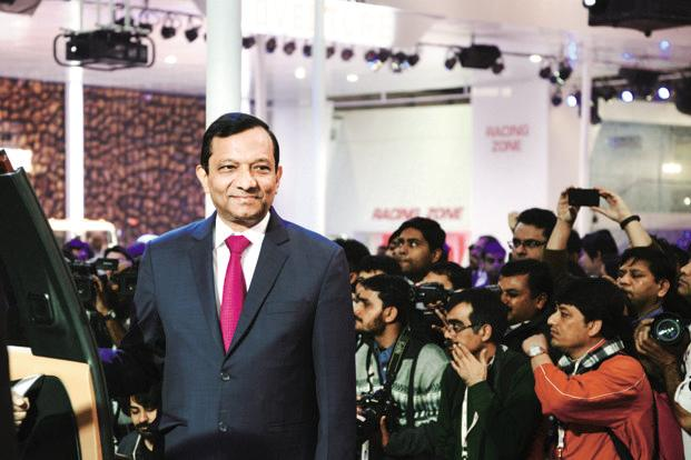 Mahindra MD Pawan Goenka is 'cautiously optimistic' about the automobile industry's performance in 2018-19 on the back of a positive economic environment. Photo: Ramesh Pathania/Mint