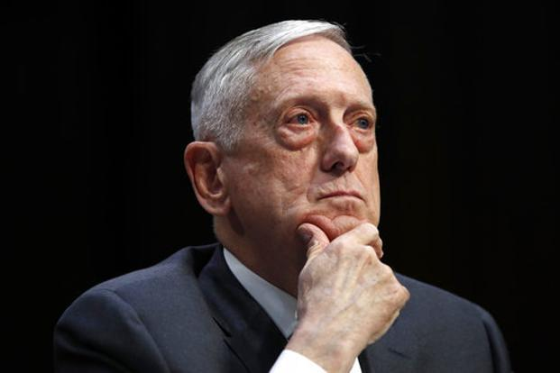 US defence secretary Jim Mattis. The US Navy periodically conducts 'freedom of navigation' operations in the contested waterway. Photo: AP