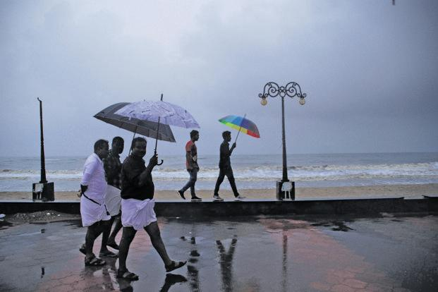 The south-west monsoon, which provides over 70% of India's rainfall, arrived at the Kerala coast three days early on 29 May. Photo: K. Shijith/Mint