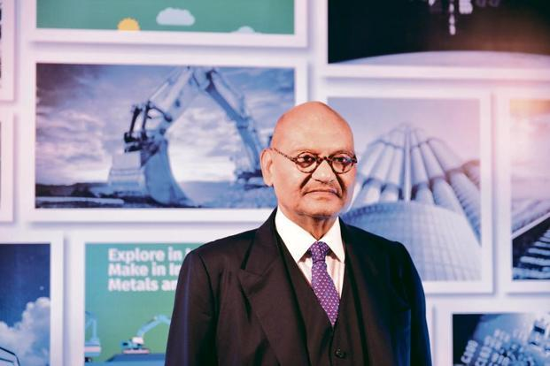 Vedanta's Anil Agarwal. Photo: Pradeep Gaur/Mint