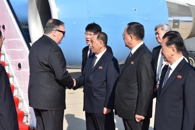 Kim Yong Chol is the most senior North Korean official to meet top officials for talks in the US since Jo Myong Rok, a vice marshal, met then-President Bill Clinton at the White House in 2000. Photo: AP