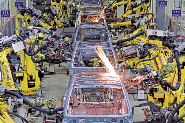 Activity in India's manufacturing sector grew at a weaker pace in May from the previous month. Photo: Reuters