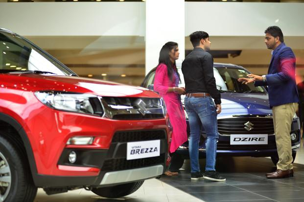 With new cars and refreshes, Maruti Suzuki is expected to maintain its leadership position in 2018. Photo: Ramesh Pathania/Mint