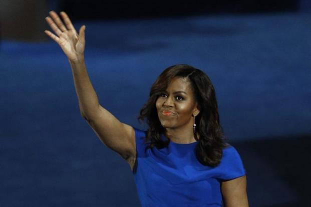 Michellle Obama at the Democratic National Convention.