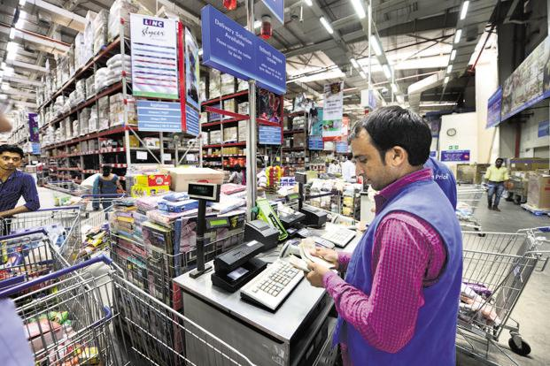 Walmart India is also opening a new fulfilment centre as part of a pilot run in a bid to expand its cash-and-carry footprint at a faster clip. Photo: Ramesh Pathania/Mint