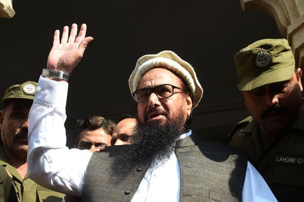 A file photo of 2008 Mumbai terror attack mastermind Hafiz Saeed. Photo: AFP