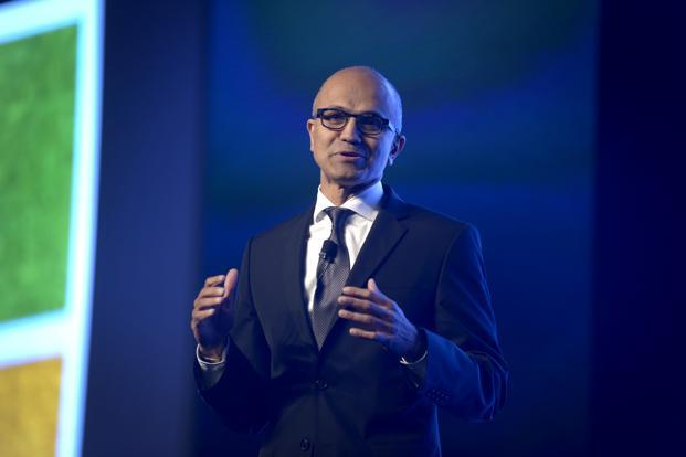 Microsoft CEO Satya Nadella. GitHub preferred selling the company to going public and chose Microsoft partially because it was impressed by Nadella, a person familiar with the deal says. Photo: Abhijit Bhatlekar/Mint