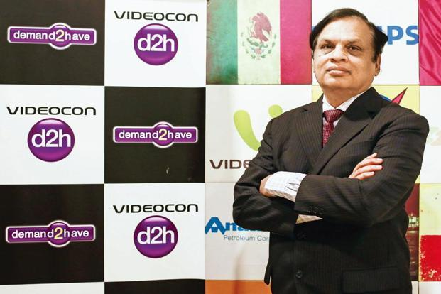 Videocon Industries' chairman Venugopal Dhoot. Photo: Reuters