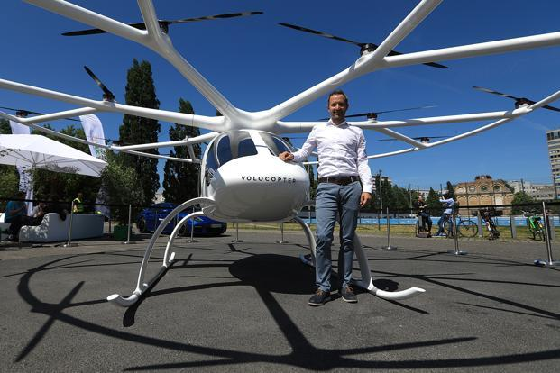 "Volocopter is in talks with new and current investors to raise the funds ""as soon as possible,"" chief executive officer Florian Reuter said in an interview. Photo: Bloomberg"