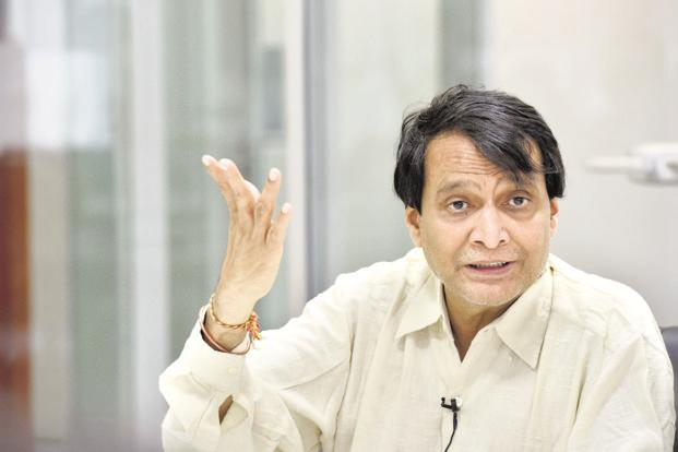 Gross FDI inflows jumped 3.2% in FY18: Suresh Prabhu
