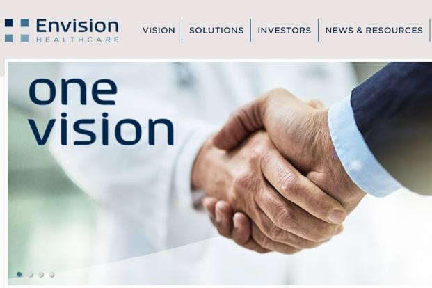 Raymond James Finally Downgrades Envision Healthcare (NYSE:EVHC)