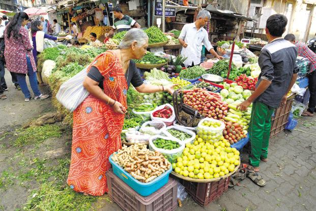 Annual retail food inflation remained muted, helped by forecast of a normal monsoon this year. Photo: Abhijit Bhatlekar/Mint