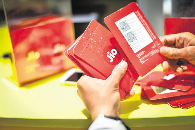 Revenue of incumbents Airtel, Idea Cellular and Vodafone have fallen by over a third since Reliance Jio launched services in mid-2016; that of small companies has fallen as much as 85%. Photo: Aniruddha Chowdhury/Mint