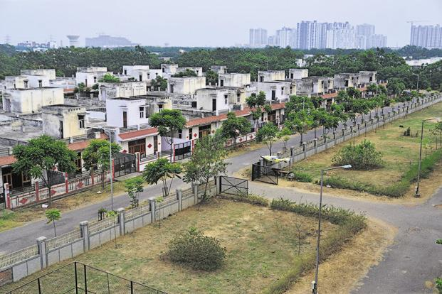 The key reason for the ghost complexes of Greater Noida is the broker cartel that does not let the price drop to a level to see the demand. Photo: Pradeep Gaur/Mint