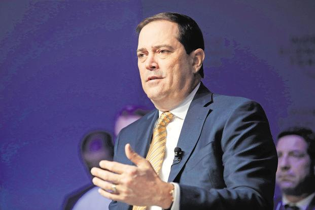 Chuck Robbins, chief executive officer of Cisco Inc. Photo: Bloomberg
