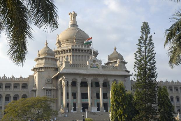 The Karnataka assembly has 224 seats. Photo: Mint