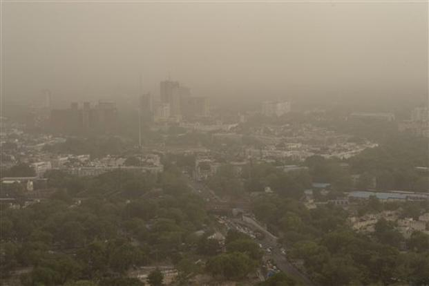 Delhi's air quality remains severe, strong winds expected to clear dust