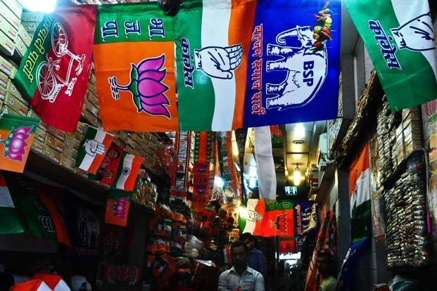 With 2019 Lok Sabha elections less than a year away, both the Congress and the Bharatiya Janata Party (BJP) have started reaching out to regional parties for alliances. Photo: Mint