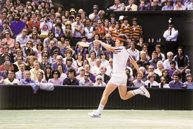 When John Mc Enroe arrived on the world stage at Wimbledon to challenge Swedish great Bjorn Borg for the world No.1 spot he quickly became the Superbrat in British media