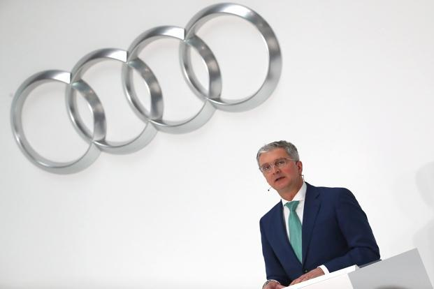Audi CEO arrested in connection to the Volkswagen emissions scandal