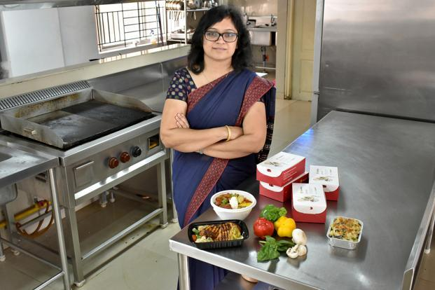 Rashmi Daga of FreshMenu. Photo: Jithendra M./Mint