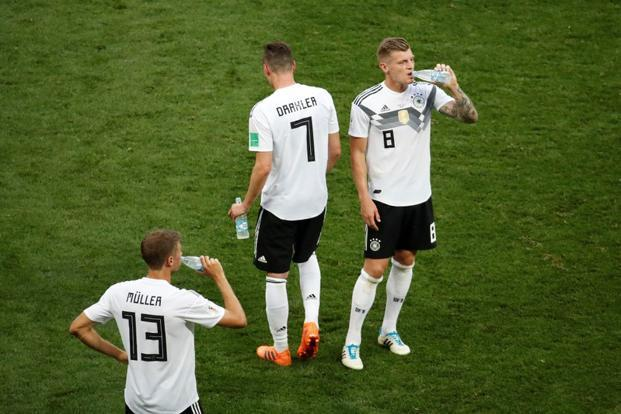 Germany lost their opening 2018 World Cup match against Mexico. Photo: Reuters