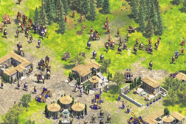 A screenshot from 'Age Of Empires II'.