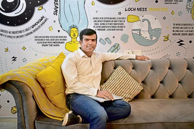 Entrepreneur Raghunandan G., co-founder of TaxiForSure, misses the people, and the excitement of a startup. Photo: Jithendra M/Mint
